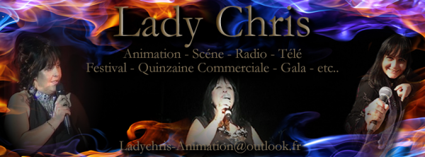 DIVERS : Lady Chris Animatrice Présentatrice