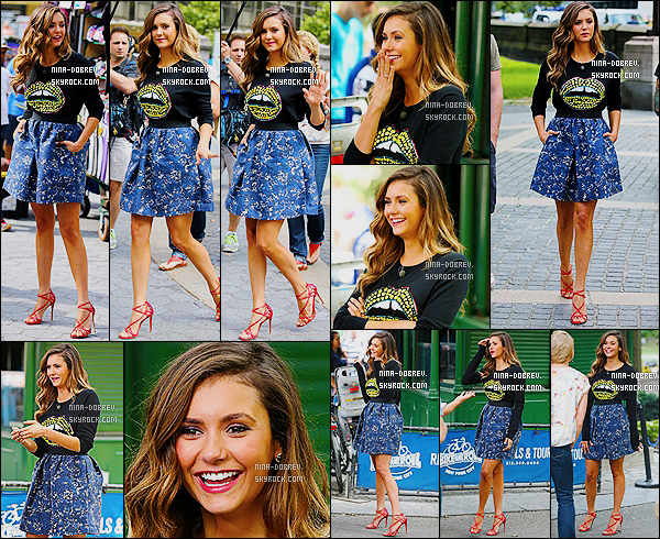 04/08/14 : Nina a donn� une interview �  � Access Hollywood � afin de parler de � Let's Be Cops � � New York.