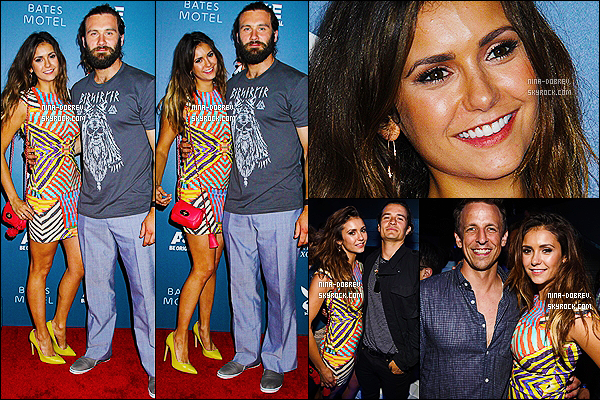 25/07/2014 : la magnifique Nina �tait au  � CraveOnline Presents : Crave Conquers The Con � � San Diego.