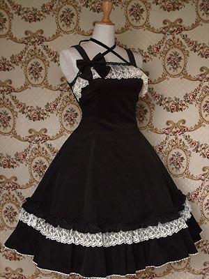 Robe Gothique Lolita Noir By Asahi Tย єร קlยt 244 T รฬєєt ๏ย