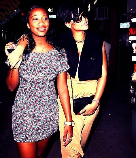 Rihanna vs karrueche tran d rapage raciste de la meilleure amie de riri blog de - Rihanna poids taille ...