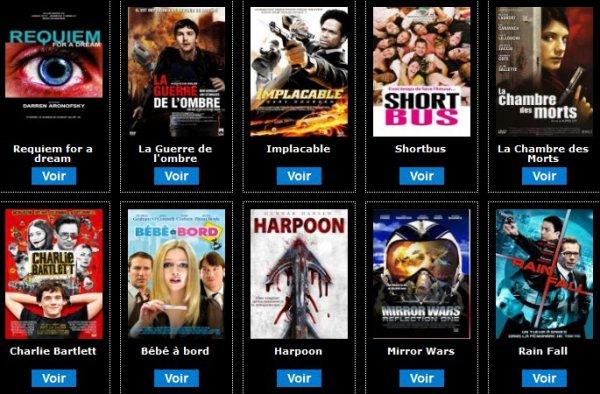 Des centaines de films � voir sur Myskreenvod