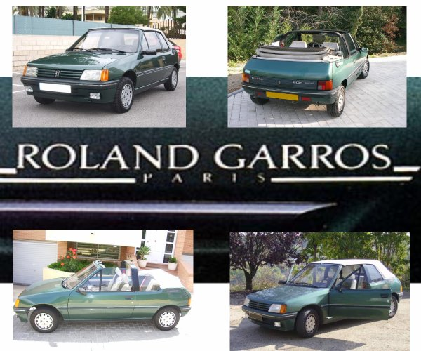 peugeot 205 roland garros cabriolet saga peugeot. Black Bedroom Furniture Sets. Home Design Ideas