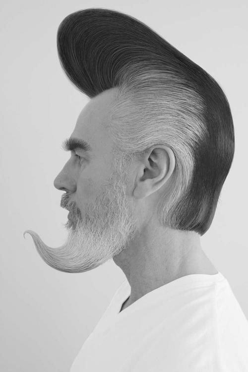 Psychobilly Hairstyle Men Psychobilly hairstyle men