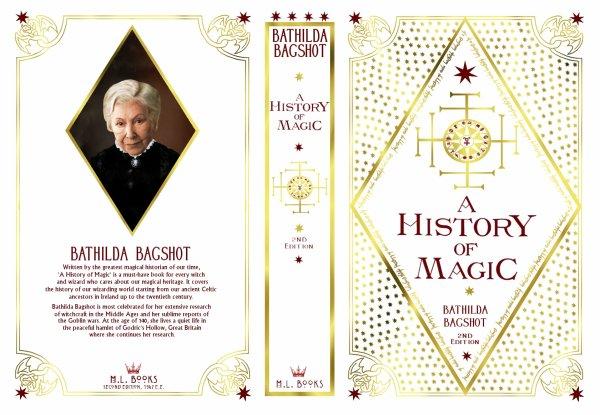 History Of Art Book Cover : De propsharrypotter