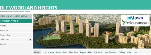 DLF Woodland Heights is probably the finest in economy luxury apartments in Bangalore