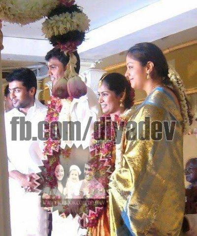 Surya & Jyothika - Rare/Unseen Pic - Dev & Diya - kutty ...