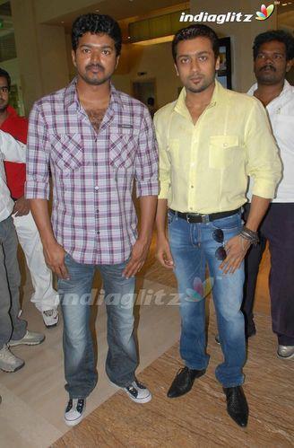 Surya And Vijay Stills Unseen pics & news updates!
