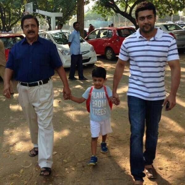 Surya and Suvakumar with Dev - Rare/unseen