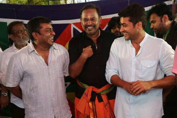 Surya Venkat Prabhu Movie Pooja held on Apr 14' 14