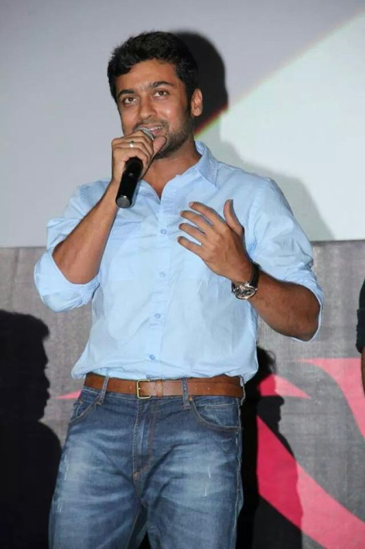 Surya at Anjaan songs premiere event