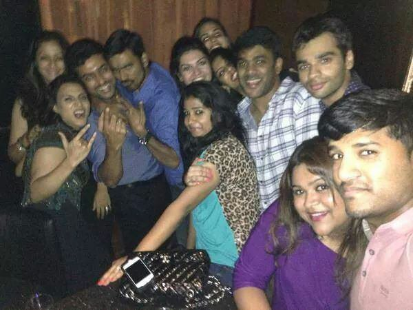 Surya Jyothika @ Danush birthday party