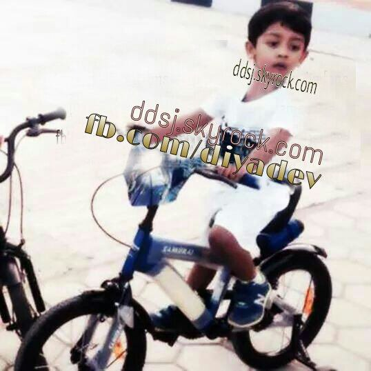 Actor Surya's son Dev - Rare/unseen pic!