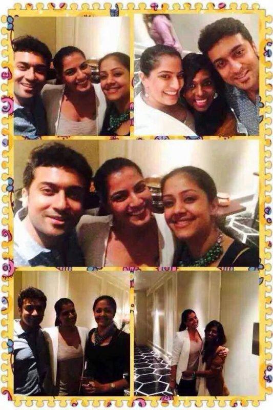 Jyothika's birthday party