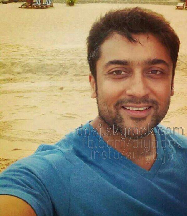 Surya Selfies and Rare pics!