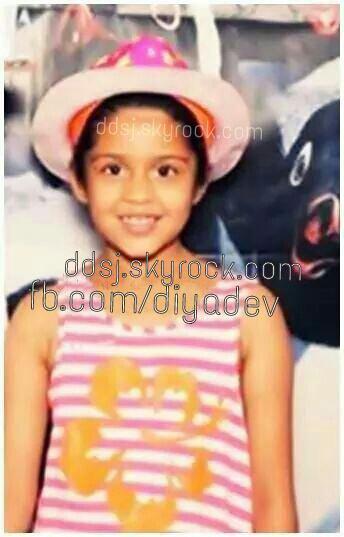 Actor Surya's daughter Diya - Rare/unseen pic