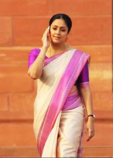 Jyothika at How old are you remake shooting spot!
