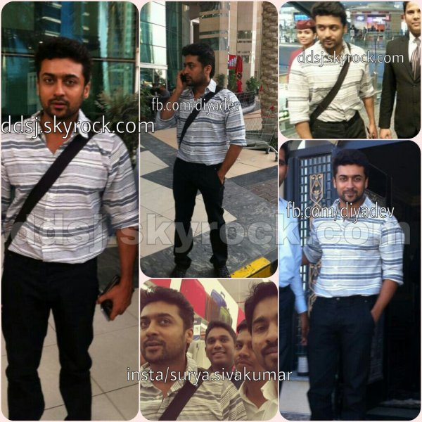 Surya at Doha airport