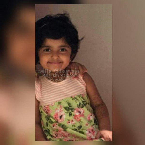 Karthi's daughter Ummayal - Rare/Unseen pic - Dev & Diya ...  Actor Karthi Daughter Umayaal Photos