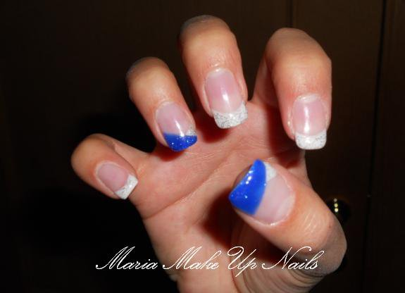 Pose D'ongles en Gel Avec French Pose D'ongles French Blanche