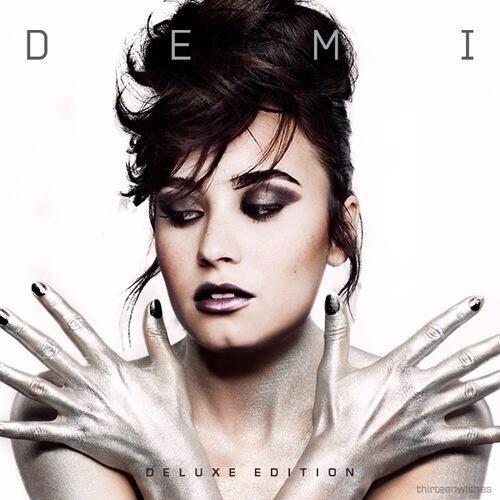 Think, demi lovato new album cover
