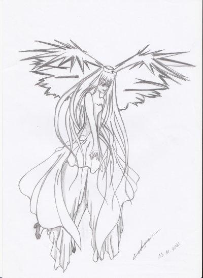 Articles de dessinsmanga shojo tagg s fille de manga - Dessin ange demon ...