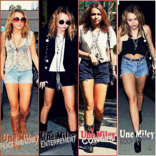 Nouveau Style Vestimentaire Miley et Son Nouveau Style