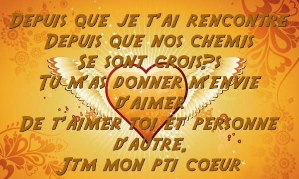 Ta rencontre poeme