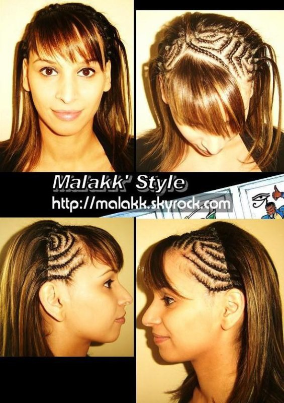 Tresses Plaqu 233 Es Cornrows