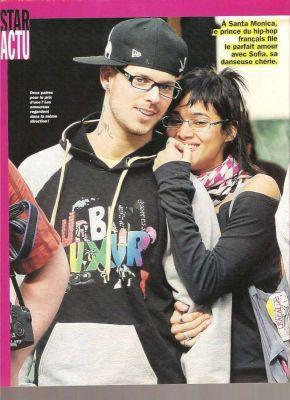 Matt et Sofia Boutella - Fan de M.Pokora