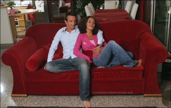 St phane et sa compagne nathalie c t l stars mondadori franceils sont trop mignons tous - Stephane marie et sa compagne ...
