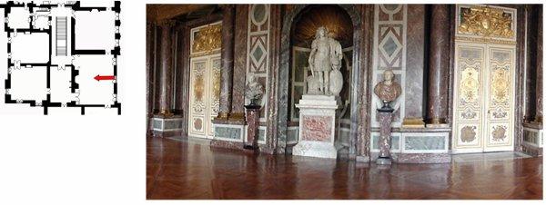 Premier étage - Aile centrale - Les grands appartements - 3 Salon de Vénus