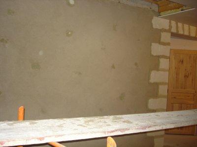Week end du 29 et 30 octobre je fais les joints et les enduits sur les murs - Dosage ciment blanc et sable pour joint ...