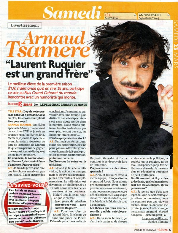 exemple d interview de star