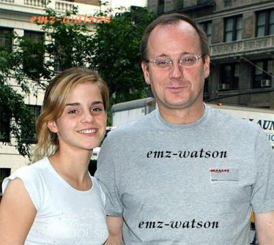 emma et son p  232 re chris watson emma and her father chris watsonChris Watson Emma Watsons Father