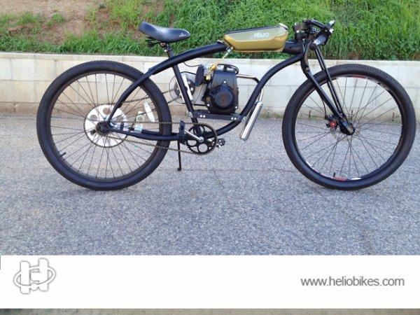 Why should you buy a Helio 4 stroke Motorized Bike?