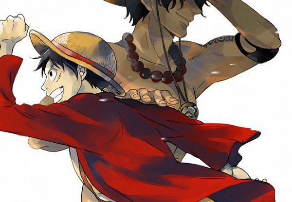 rencontre luffy garp