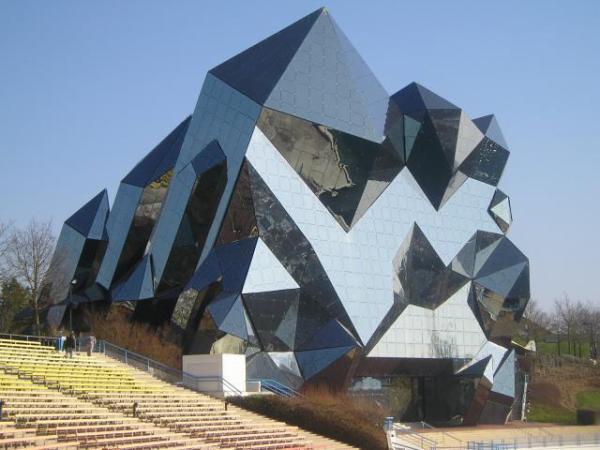 Le kin max louisiane futuroscope beaucoup plus que for Architecture des batiments