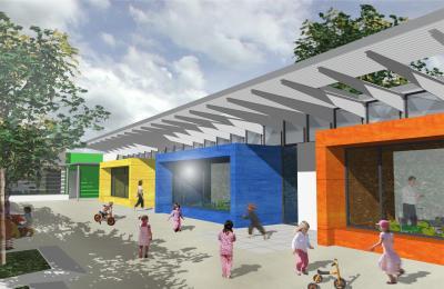 concours p le petite enfance de pau pavillon de l 39 architecture. Black Bedroom Furniture Sets. Home Design Ideas