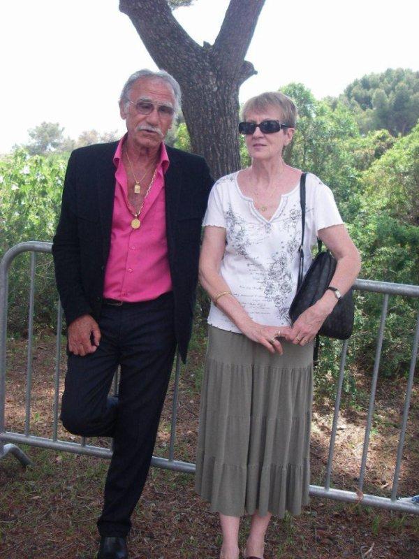 Mes amis Christine Creveaux et Claude Russo