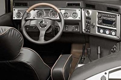 Hummer h1 interieur country man for Interieur hummer