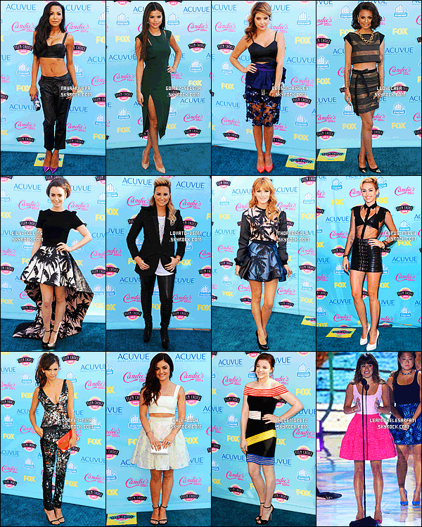 * *_● ● ● ' COLLABORATION // TEEN CHOICE AWARDS // VOTEZ MILEY      Les Teen Choice Awards 2014 arrivant � grand pas, profites-en pour voter pour ta tenue pr�f�r� de l'ann�e derni�re !  *