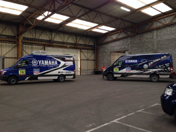 TEAM YAMAHA FACTORY RACING OK AU HAVRE...DIRECTION ROSARIO!
