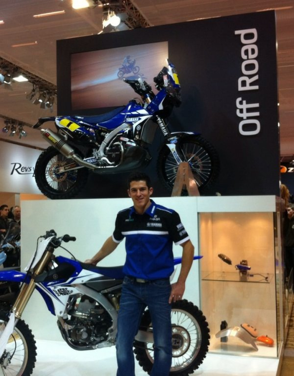 PRESENTATION-TEAM-DAKAR-2014-YAMAHA-FACTORY-RACING-SALON-DE-LA-MOTO