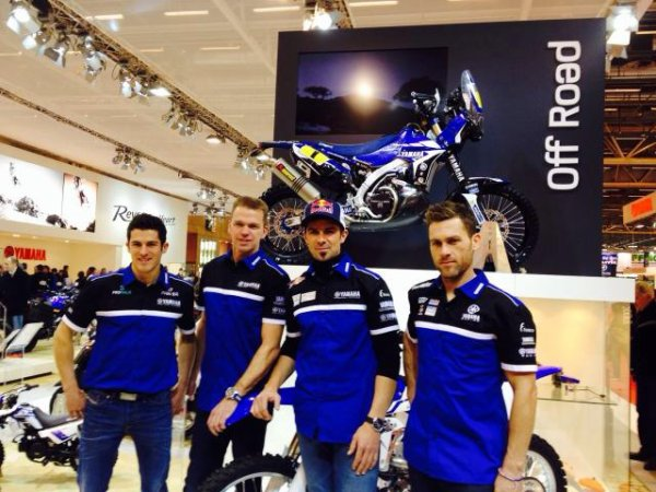PR�SENTATION TEAM DAKAR 2014 YAMAHA FACTORY RACING