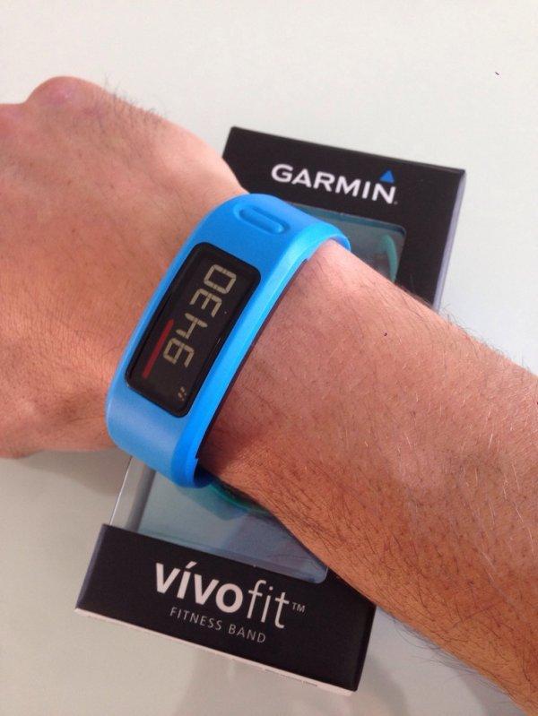 Mon nouveau partenaire d'entra�nement : Vivofit. Merci Garmin :)