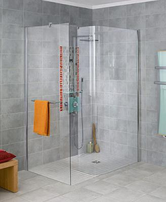 Un modele de douche a l 39 italienne l 39 univers de c line for Photo de douche a l italienne
