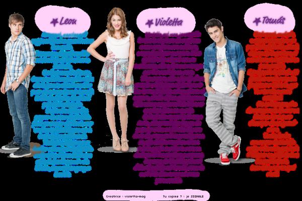 Les acteurs de violetta saison 2
