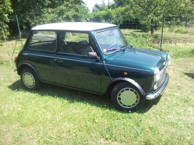 austin mini racing green a vendre restauration de ma mini. Black Bedroom Furniture Sets. Home Design Ideas