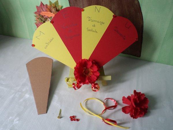 décoration de table espagnole #3